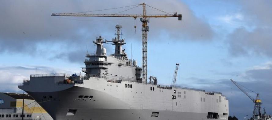 რუსეთი მისტრალის არ მიღების შემთხვევაში საფრანგეთს უჩივლებს