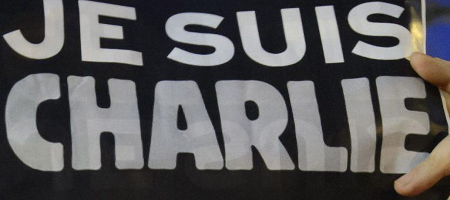 Charlie Hebdo-ს მხარდაჭერისთვის მოსკოვში აქტივისტი დაიჭირეს