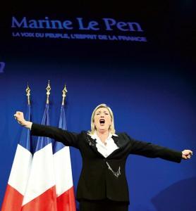 ლე პენმა მომხრეებს მოუწოდა პარიზის დემონსტრაციაზე არ წავიდნენ