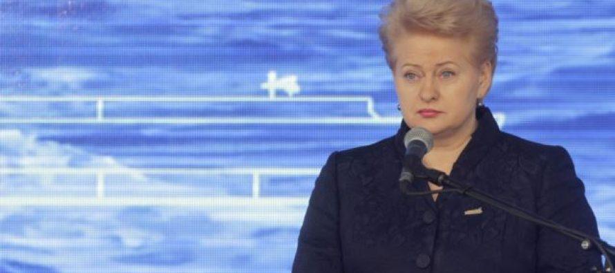 ლიტვის პრეზიდენტს მიაჩნია, რომ რუსეთი იქცევა როგორც ტერორისტი