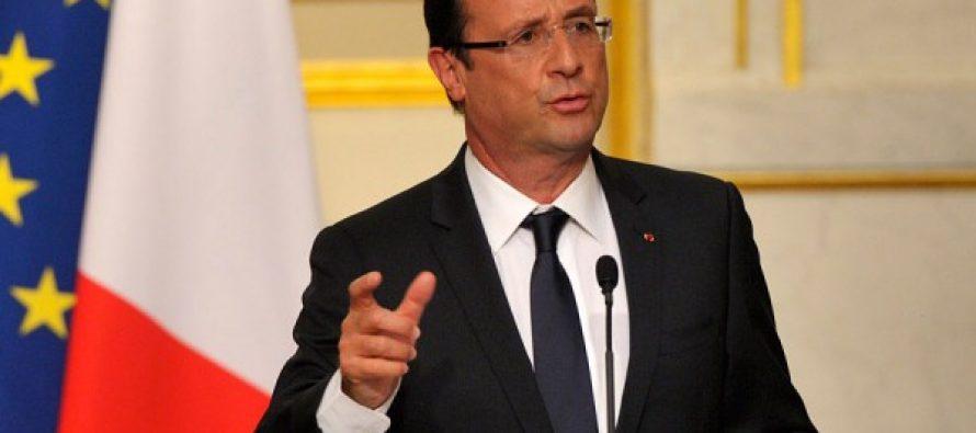 ფრანსუა ოლანდი საფრანგეთის მოქალაქეებს სიმშვიდისკენ მოუწოდებს