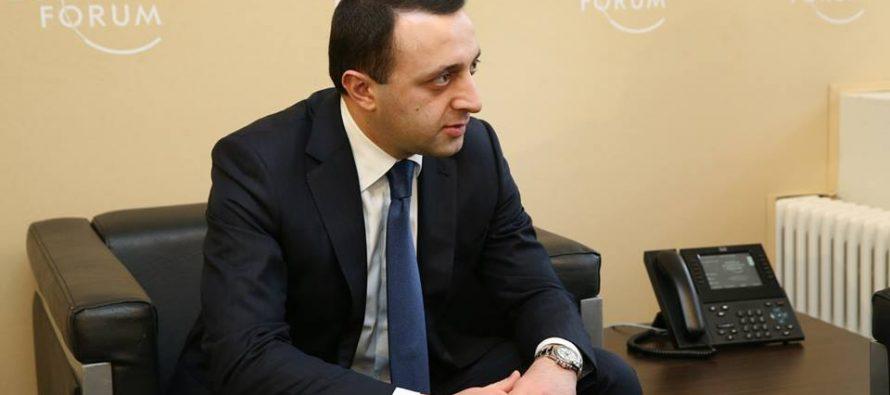 ირაკლი ღარიბაშვილმა პანამის პრემიერი საქართველოში მოიწვია