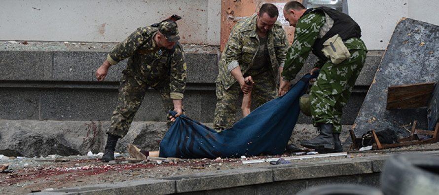 ლუგანსკში ორი უკრაინელი ჯარისკაცი დაიღუპა