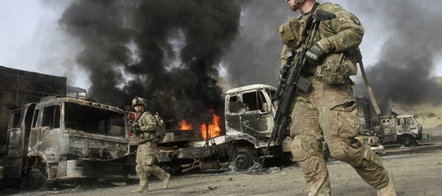 თალიბანის მორიგი თავდასხმა ნატოს სამხედროებზე