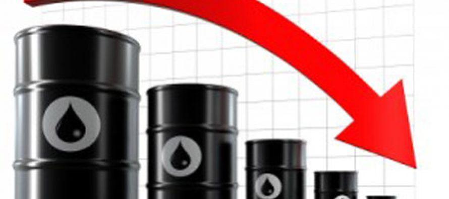 ნავთობის ფასი მსოფლიო ბაზარზე რეკორდულად ეცემა
