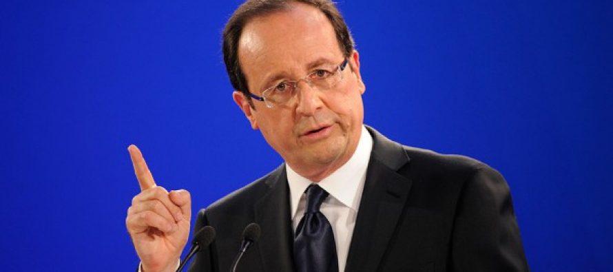 ფრანსუა ოლანდი – საფრანგეთში ტერორიზმთან ბრძოლის არნახული მასშტაბის ოპერაცია ტარდება