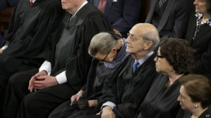 ობამას გამოსვლისას მოსამართლეს დაეძინა