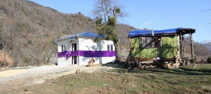87 წლის ქალბატონს წყალტუბოს მუნიციპალიტეტმა სახლი აუშენა