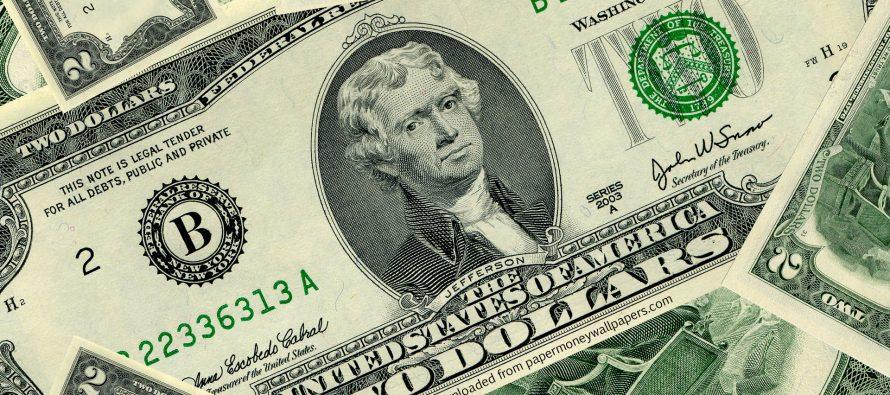 დოლარის ოფიცალური კურსი 2.14 ლარია