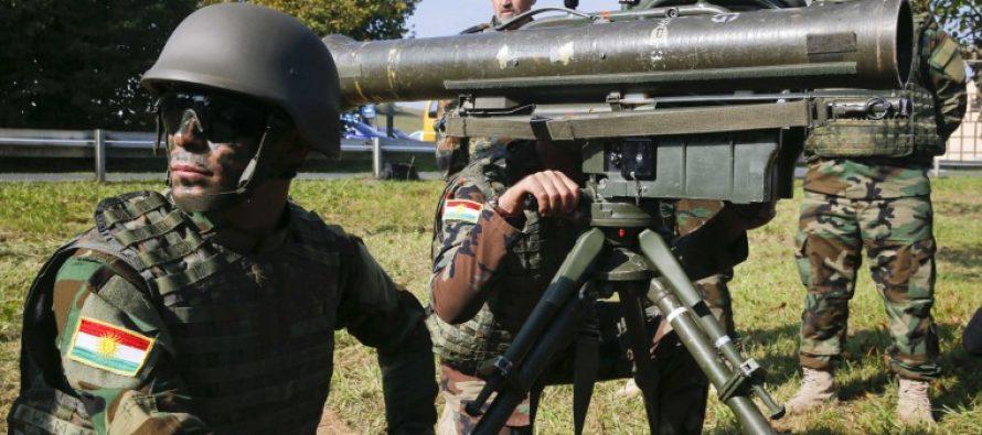 გერმანიამ ერაყელ ქურთებს 13 მლნ. ევროს იარაღი გადასცა