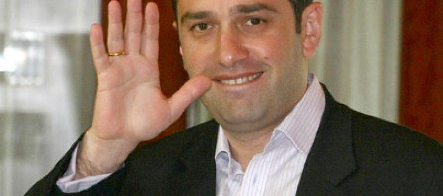 ირაკლი ალასანია დავით ზალკანიანს ახალ თანამდებობაზე დანიშვნას ულოცავს