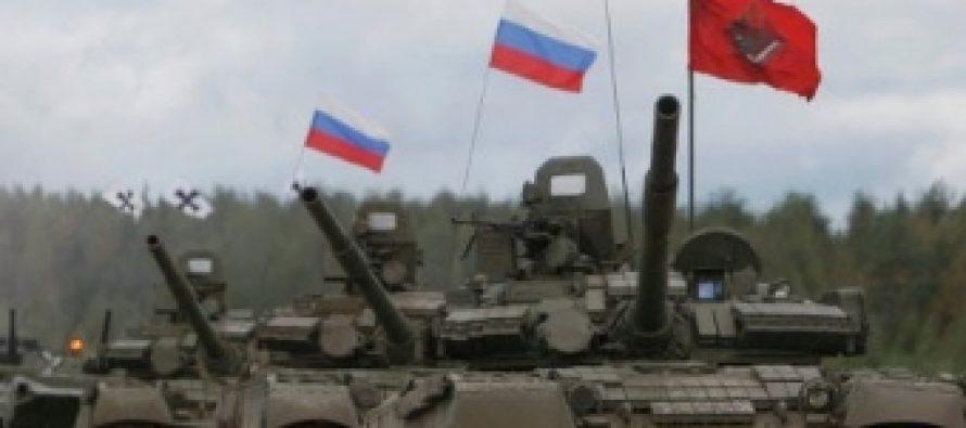უკრაინის საზღვართან რუსეთი სამხედრო სწავლებებს ატარებს
