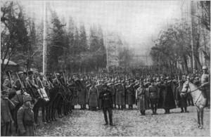 1921 წლის 25 თებერვალს კი საბჭოთა რუსეთის მე-11 წითელი არმია თბილისში უბრძოლველად შეიჭრა