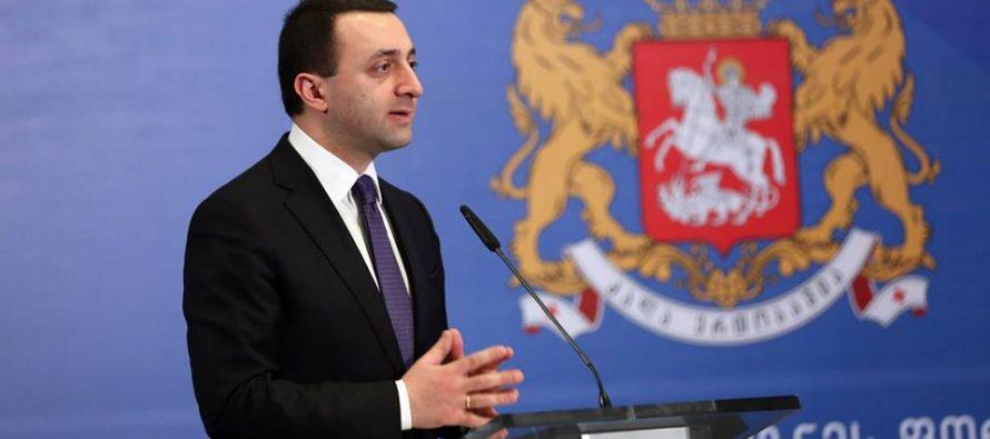 ირაკლი ღარიბაშვილი – საქართველოს ხელისუფლება რუსეთთან მოლაპარაკებებისთვის მზად არის