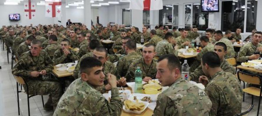 ერთი ჯარისკაცის კვებაზე სახელმწიფო დღეში 11-15 ლარს ხარჯავს
