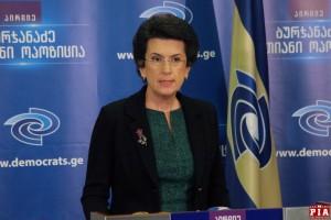 """ნინო ბურჯანაძე: ვიმედოვნებ, რომ თუნდაც საარჩევნოდ, """"ქართული ოცნება"""" შეეცდება სამართლიანობა ადამიანების გარკვეული ნაწილის მიმართ მაინც აღდგეს"""