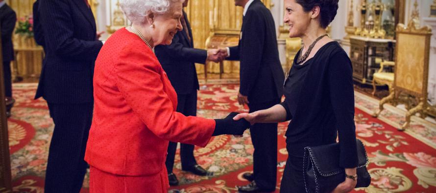 თეა წულუკიანი ინგლისის დედოფალს შეხვდა