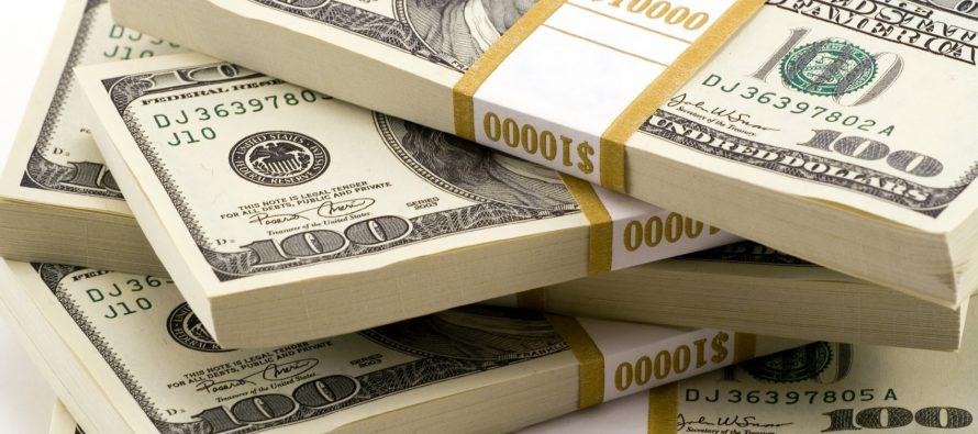 ერთი დოლარის ოფიციალური ღირებულება 2.2457 ლარია