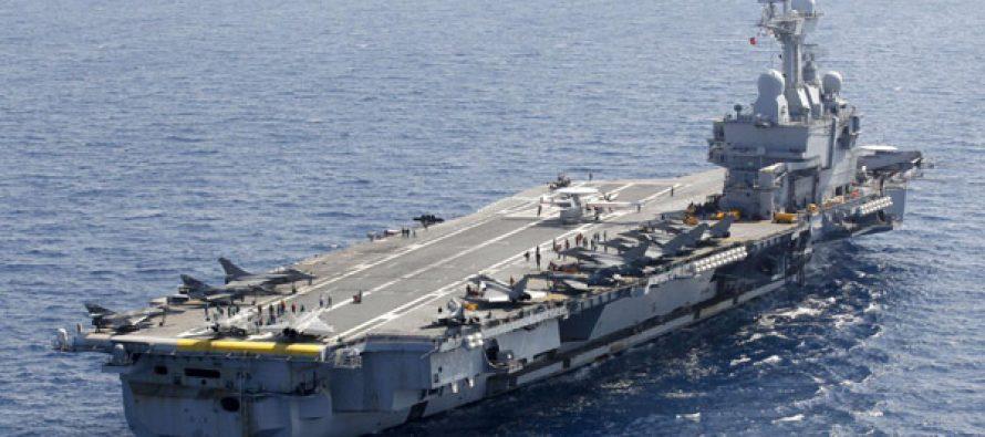 საფრანგეთმა ,,შარლ დე გოლი,, აშშ-ს არმიას გადასცა
