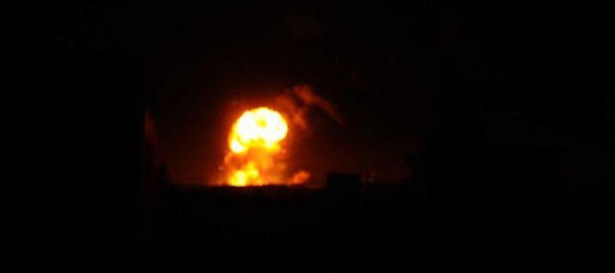 კოალიციურმა ავიაციამ ჯიჰადისტების ნავთობ-ბაზები ააფეთქა