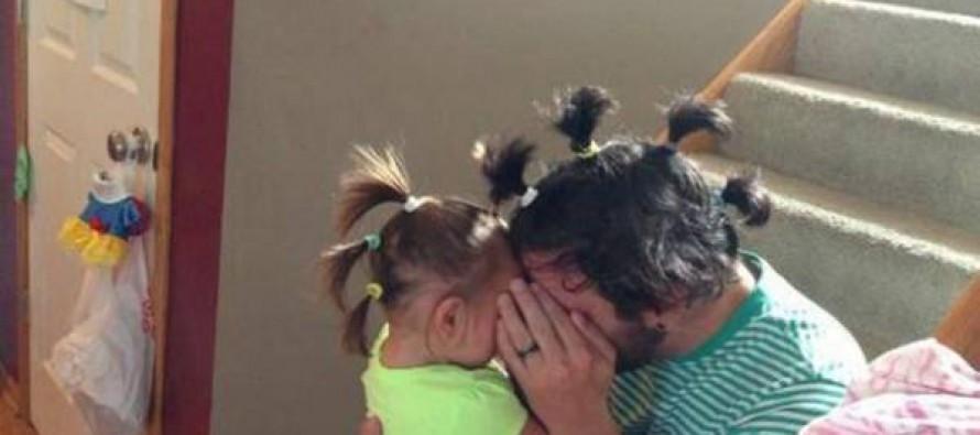 მე ქალიშვილი მყავს და ამიტომ ყოველთვის მშვენივრად გამოვიყურები ანუ მამები,რომლებსაც ქალიშვილები ჰყავთ