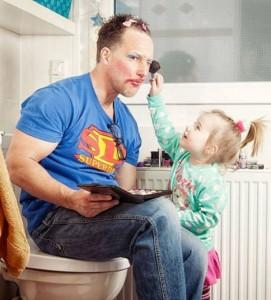მე ქალიშვილი მყავს და ამიტომ ყოველთვის მშვენივრად გამოვიყურები