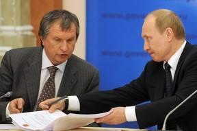 """რუსეთის პრეზიდენტსა და """"როსტნეფტის"""" ხელმძღვანელს შორის """"ბზარი"""" გაჩნდა"""