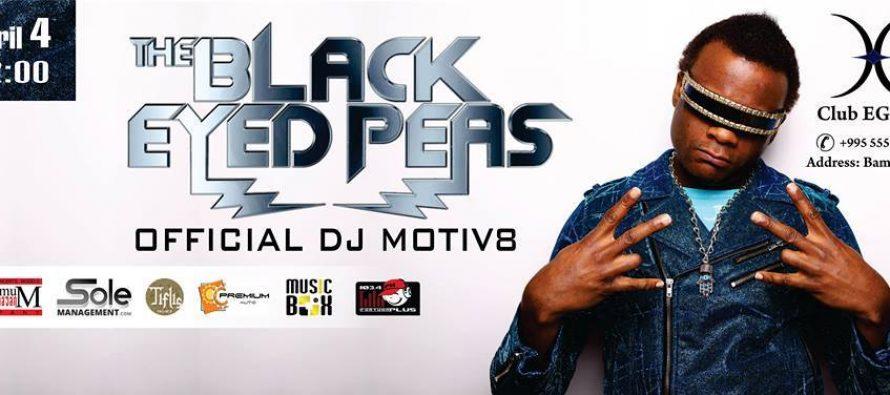 საქართველოში BLACK EYED PEAS' OFFICIAL DJ MOTIV8 ჩამოდის