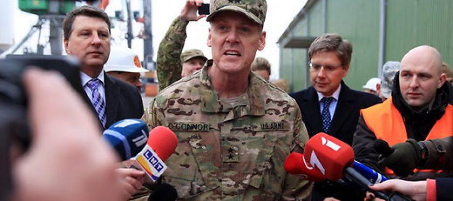 ,,აშშ-ს არმია ყველაფერსზე წავა ბალტიისპირეთის დასაცავად,, აცხადებს ამერიკელი გენერალი