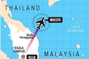 flight mh370 path