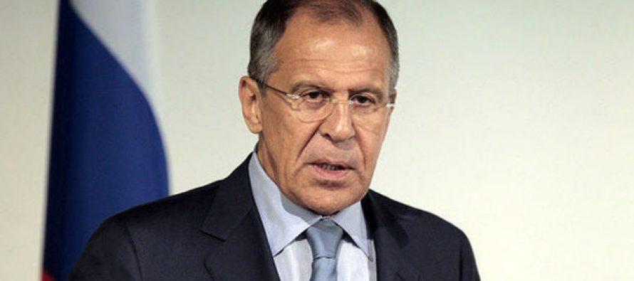 """სერგეი ლავროვი: """"ისლამური სახელმწიფო"""" ყველასათვის საერთო სამიზნე უნდა გახდეს"""""""
