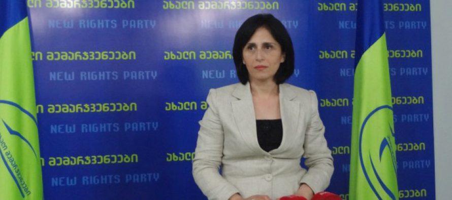 მანანა ნაჭყებია:  ქართულ პოლიტიკაში მყოფი ადამიანების წარმოუდგენლად დაბალი პროფესიონალიზმია