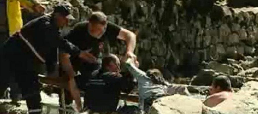 მაშველებმა მდინარე რიონიდან ორი ბავშვი გამოიყვანეს
