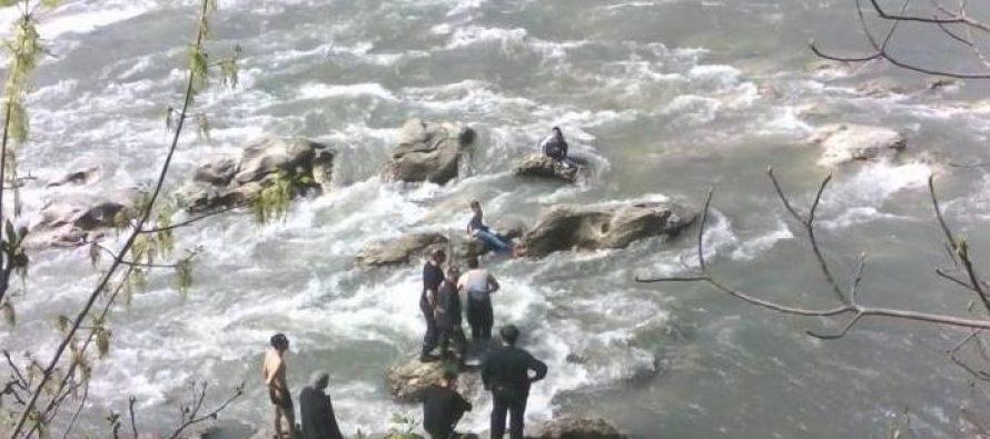 ირაკლი კეკელიას ცხედარს რიონში 12 მეტრის სიღრმეზე ეძებენ