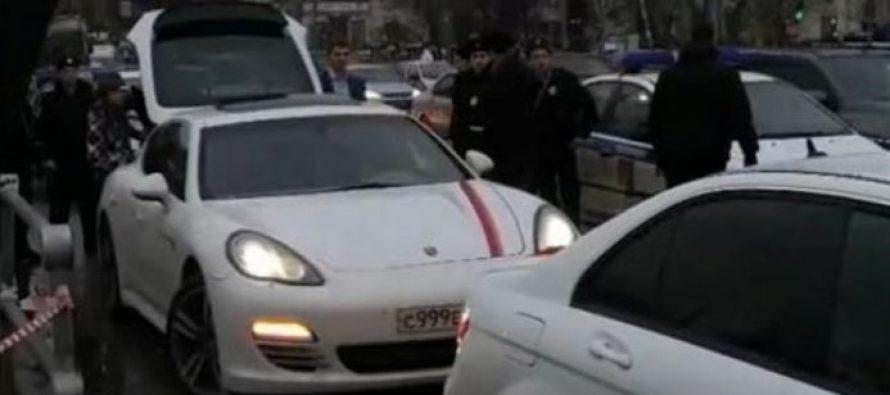 მოსკოვში სომხური დროშებით 40 მანქანა დააკავეს