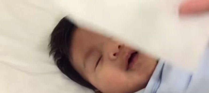 ავსტრალიელი Nathan Dailo 40 წამში ახერხებს თავისი 4 თვის შვილის დაძინებას