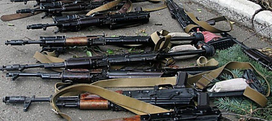 იარაღით ვაჭრობა უკრაინაში (VIDEO)