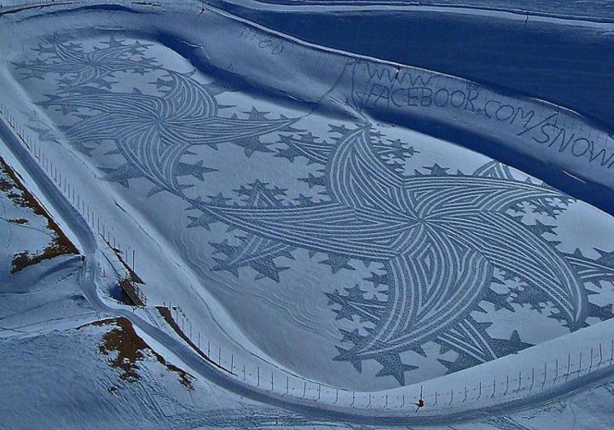 საიმონ ბექი ის ხელოვანია, რომელიც მშვენიერი შედევრების შესაქმნელად ბუნებას იყენებს