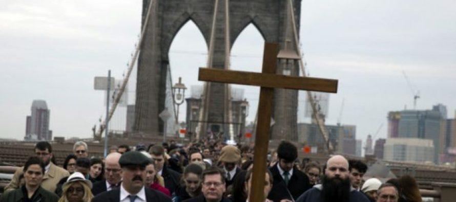 გამოკითხვა: აშშ-ში ქრისტიანების რიცხვი საგრძნობლად შემცირდა
