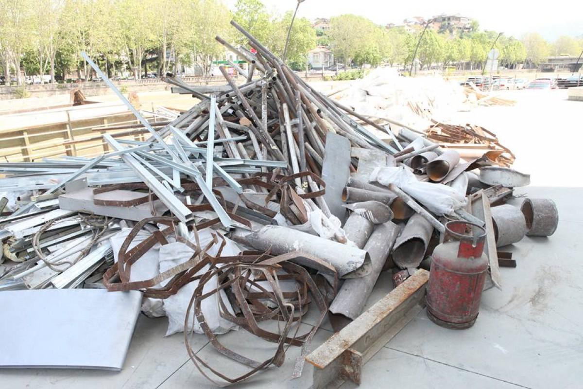 გახდება თუ არა 25 ტონა სამშენებლო მასალის ნარჩენი  ყოფილი მაღალი თანამდებობის პირებისთვის ახალი ბრალის წარდგენის საფუძველი?