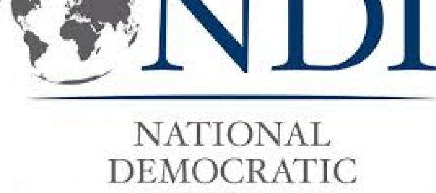 """NDI-ის კვლევის მიხედვით, გამოკითხულთა 14%-თვის ყველაზე ახლოს პარტია """"ქართული ოცნება"""" დგას"""