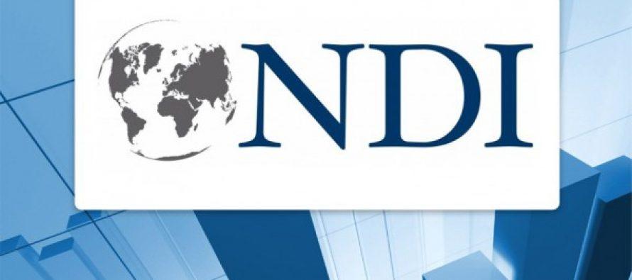 NDI-მ პოლიტიკური პარტიების რეიტინგი გამოაქვეყნა