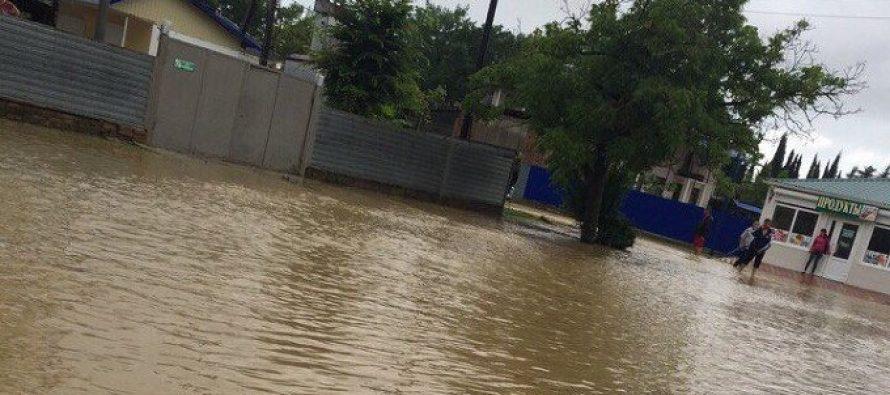 წყალდიდობა აფხაზეთში (+ ფოტო)