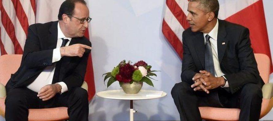 ობამა: საფრანგეთს უკვე აღარ ვჯაშუშობთ