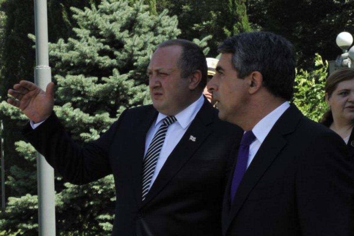 საქართველოს ბულგარეთის რესპუბლიკის პრეზიდენტი როსენ პლევნელიევი ეწვი