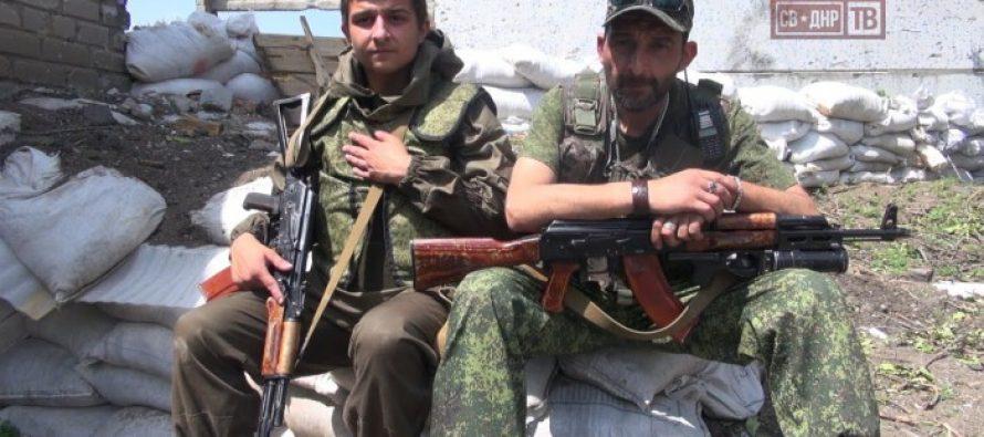 ქართველი მამა-შვილი უკრაინის წინააღმდეგ ომში (VIDEO)