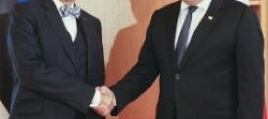 საქართველოს პრეზიდენტი ესტონელ კოლეგას შეხვდა