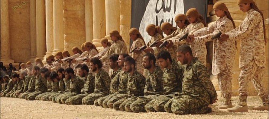,,ისლამური სახელმწიფოს,, სისხლიანი ამფითეატრი (PHOTO-VIDEO)