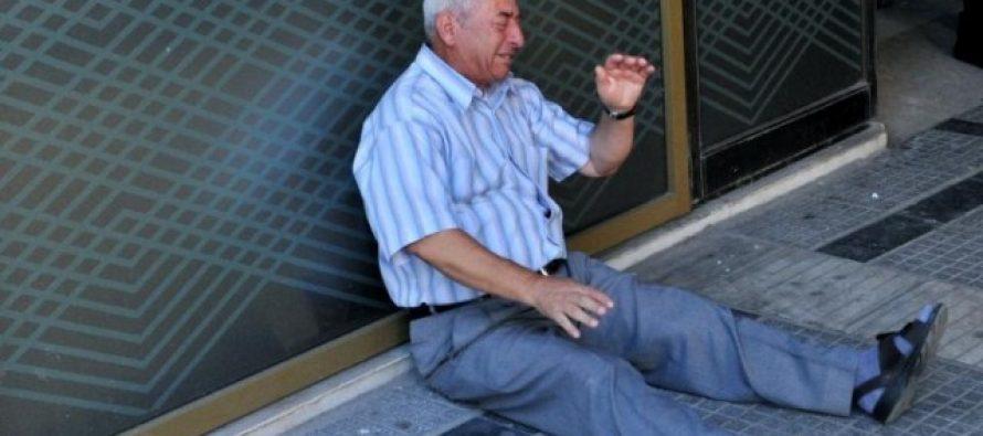 ბერძენი პენსიონერი, რომელიც საბერძნეთის მდგომარეობას ასახავს… (+ფოტო)