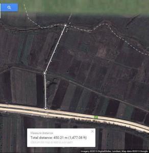 """რუსეთის მონიშნული """"საზღვრიდან"""" ავტობანამდე 450 მეტრია"""